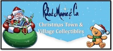 Robert Moore and Company Christmas Town