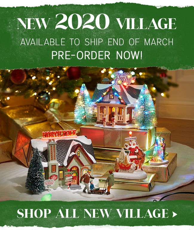 Dept 56 Christmas Villages 2020 National Council of 56 Clubs